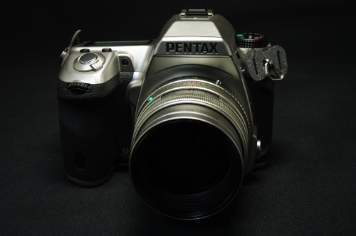 PENTAX K-7 Limited Silver 正面