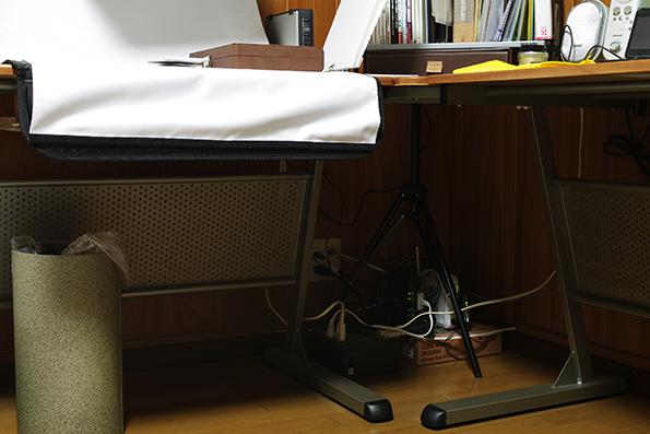 40×40cm ソフトライトボックス スタンド・ブームセット(2)