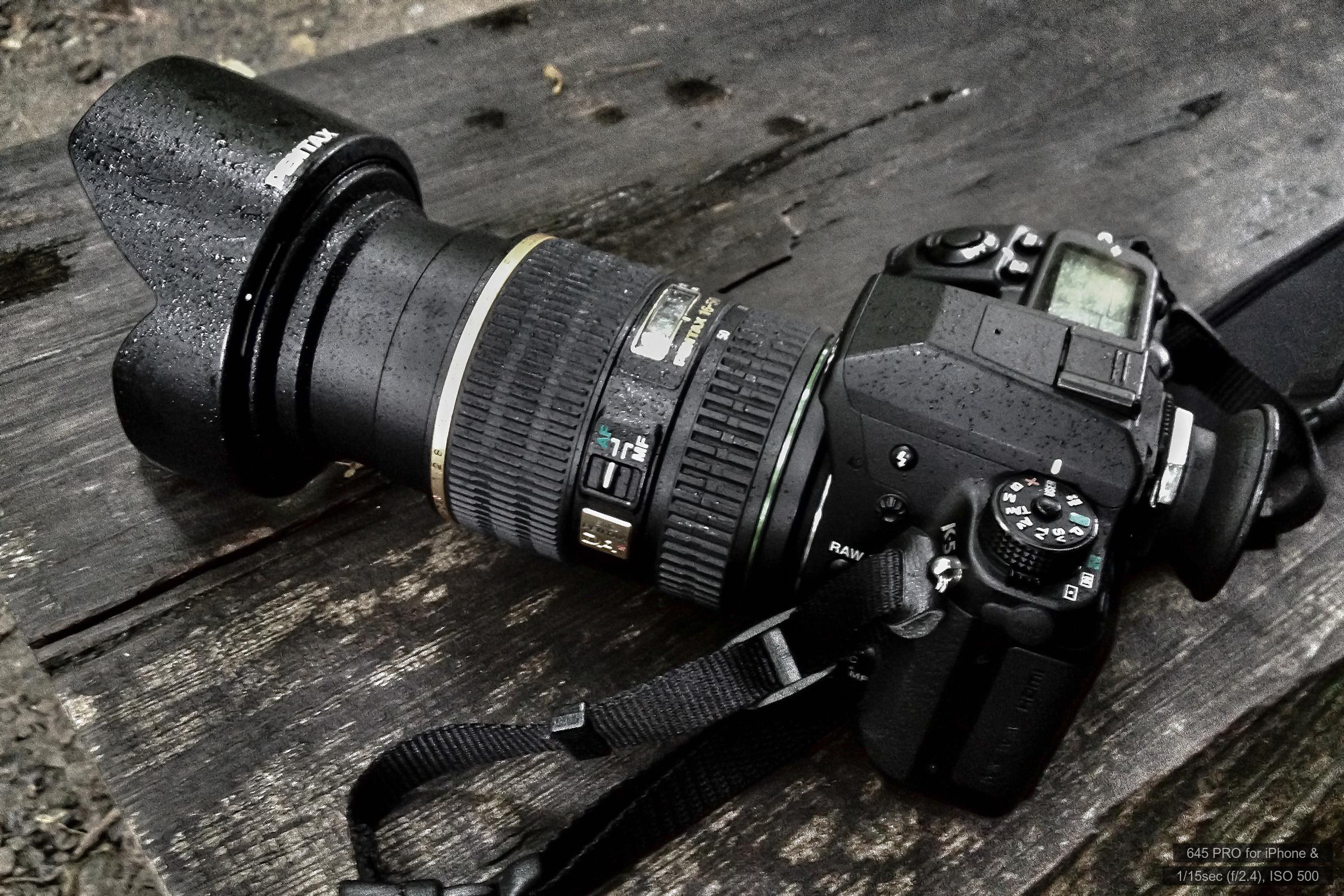 PENTAX K-5&DA★16-50mm