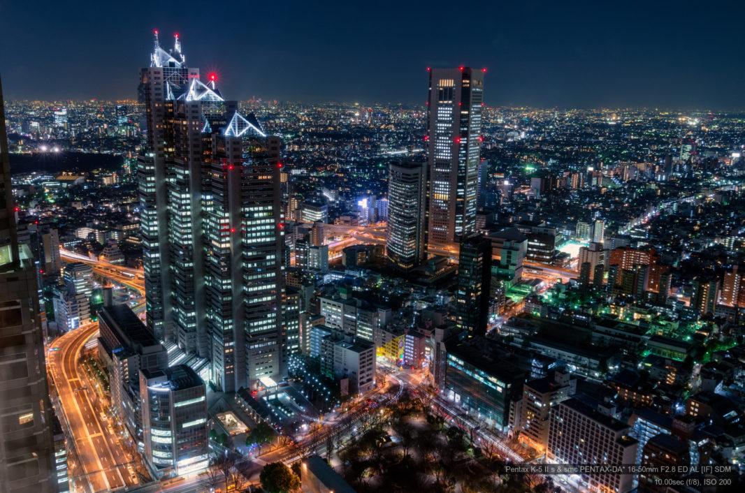 都庁展望室より | PENTAX K-5IIs&DA★16-50mm
