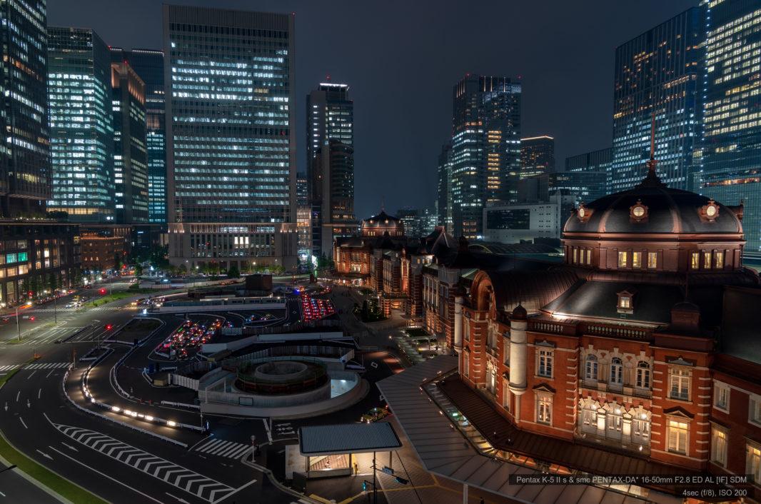 KITTEガーデンより東京駅 | PENTAX K-5IIs&DA★16-50mm