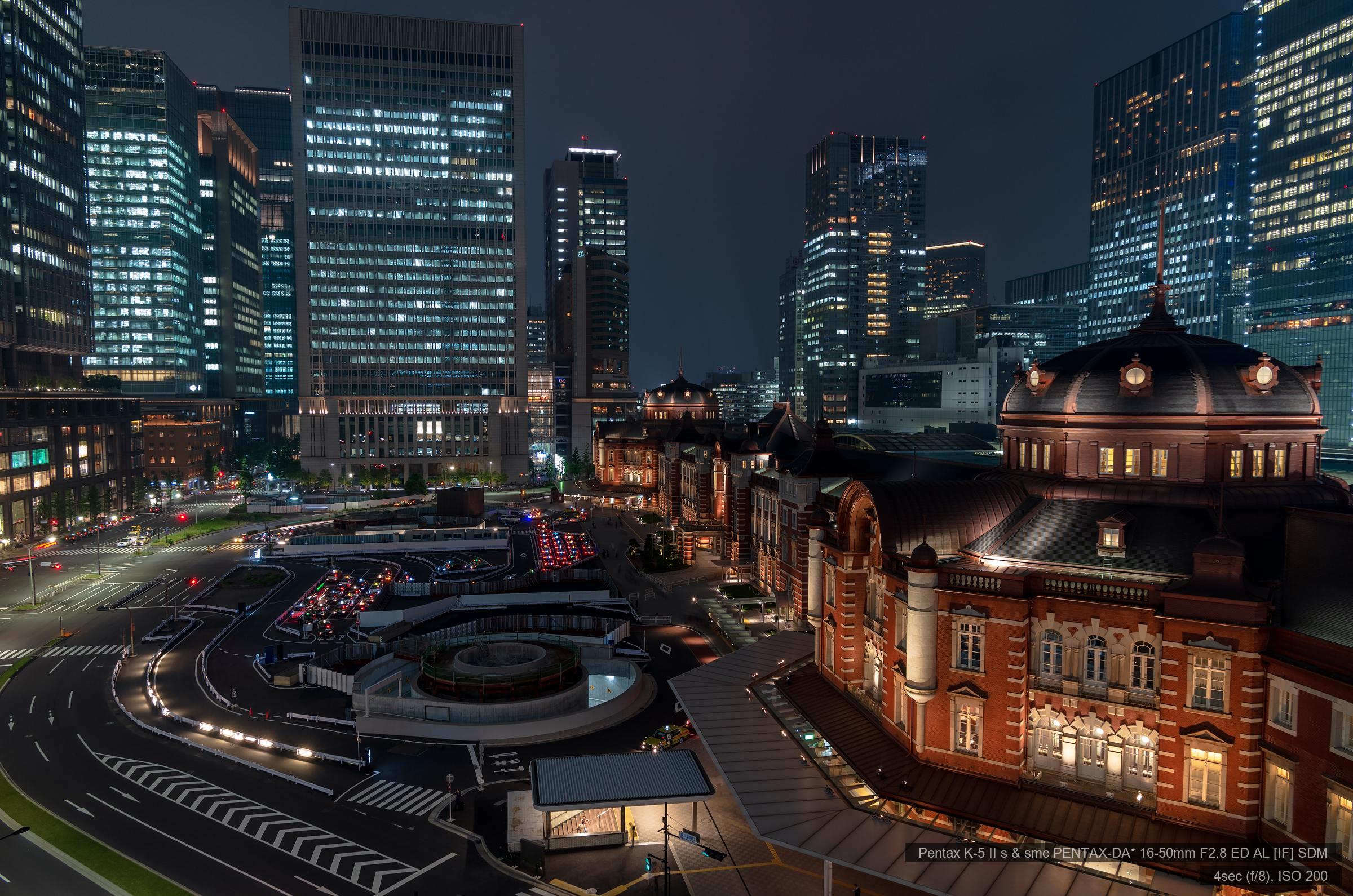 KITTE屋上庭園より東京駅 | PENTAX K-5IIs&DA★16-50mm