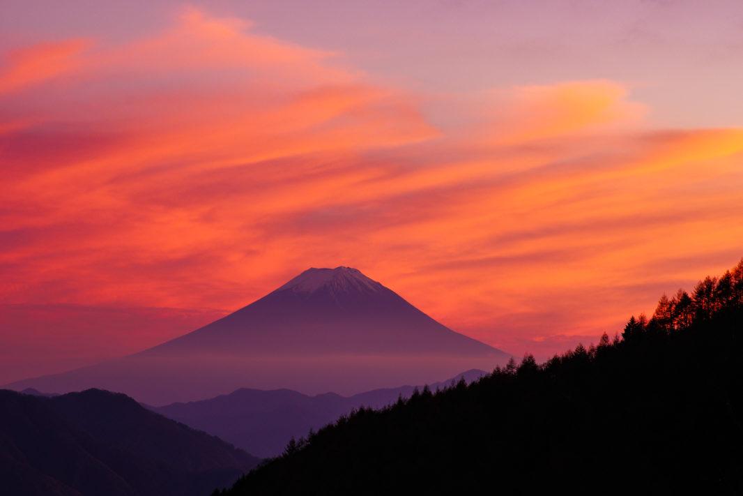 柳沢峠茶屋より富士山 | PENTAX K-5IIs&FA★85mm