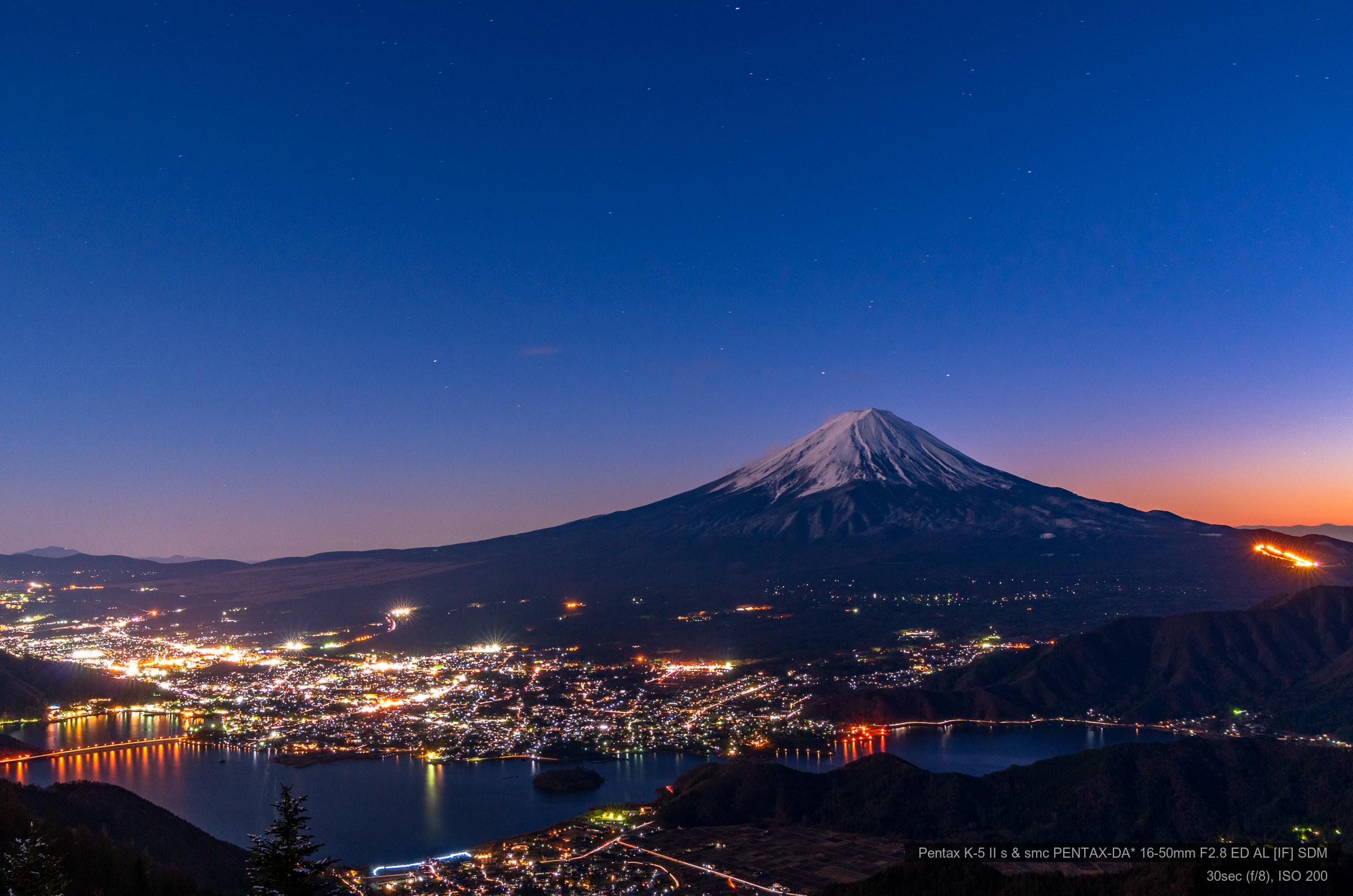 新道峠より富士山 | PENTAX K-5IIs&DA★16-50mm