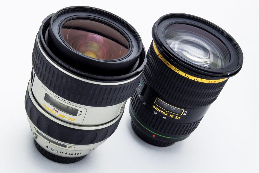 PENTAX FA★28-70mm F2.8 AL&PENTAX DA★16-50mm F2.8 ED AL IF SDM