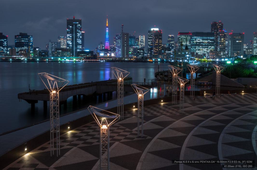 晴海ふ頭より東京タワー   PENTAX K-5IIs&DA★16-50mm