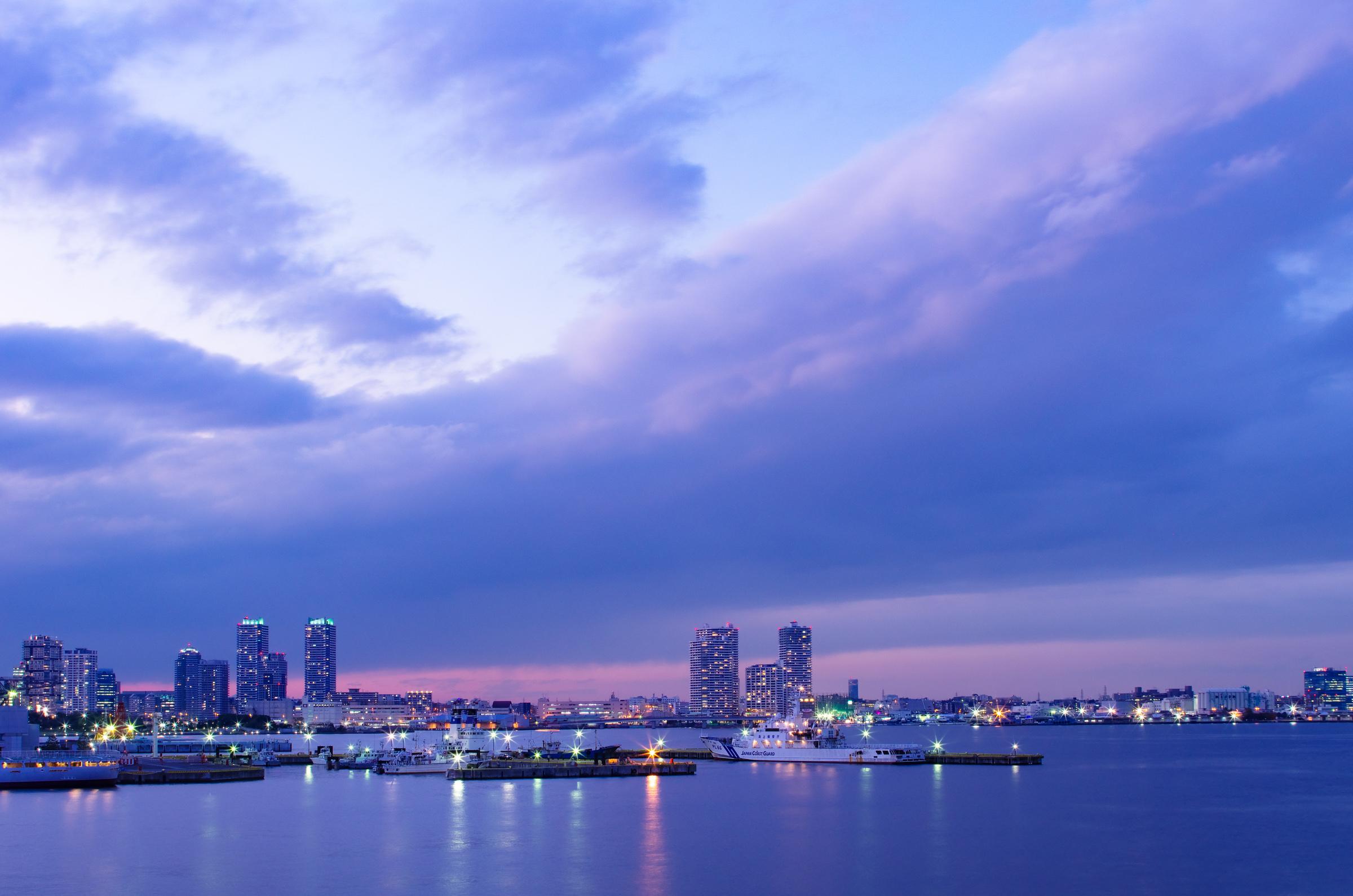 大さん橋より横浜夕景 | PENTAX K-5IIs&FA★28-70mm