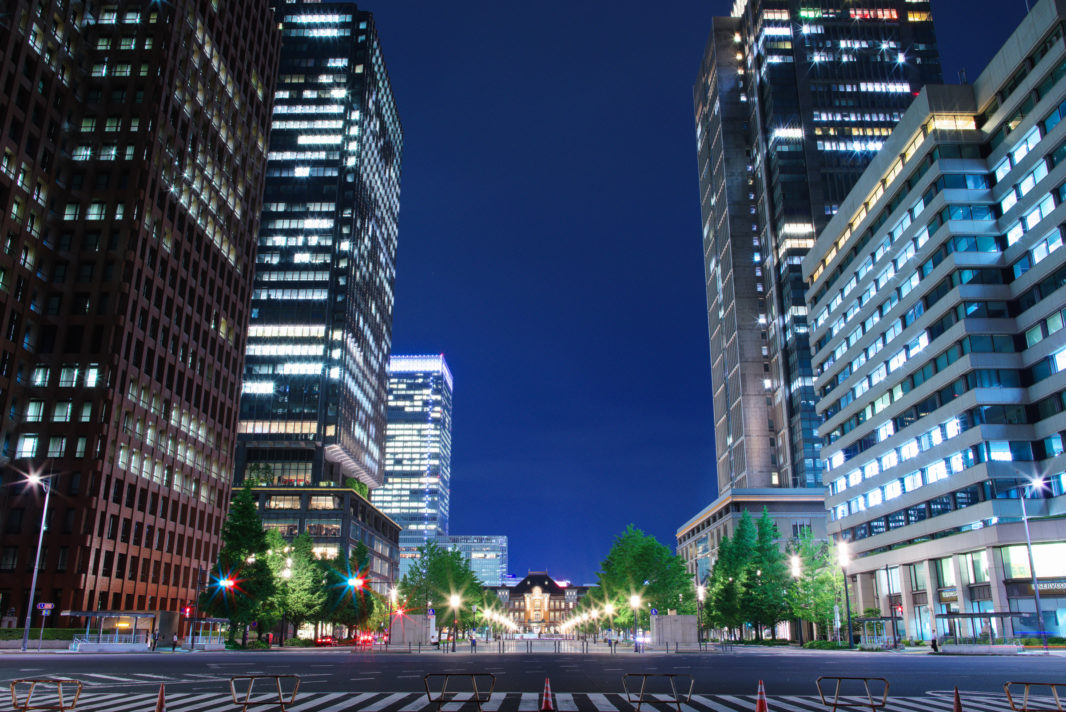 行幸通りより東京駅 | PENTAX K-1&FA★28-70mm