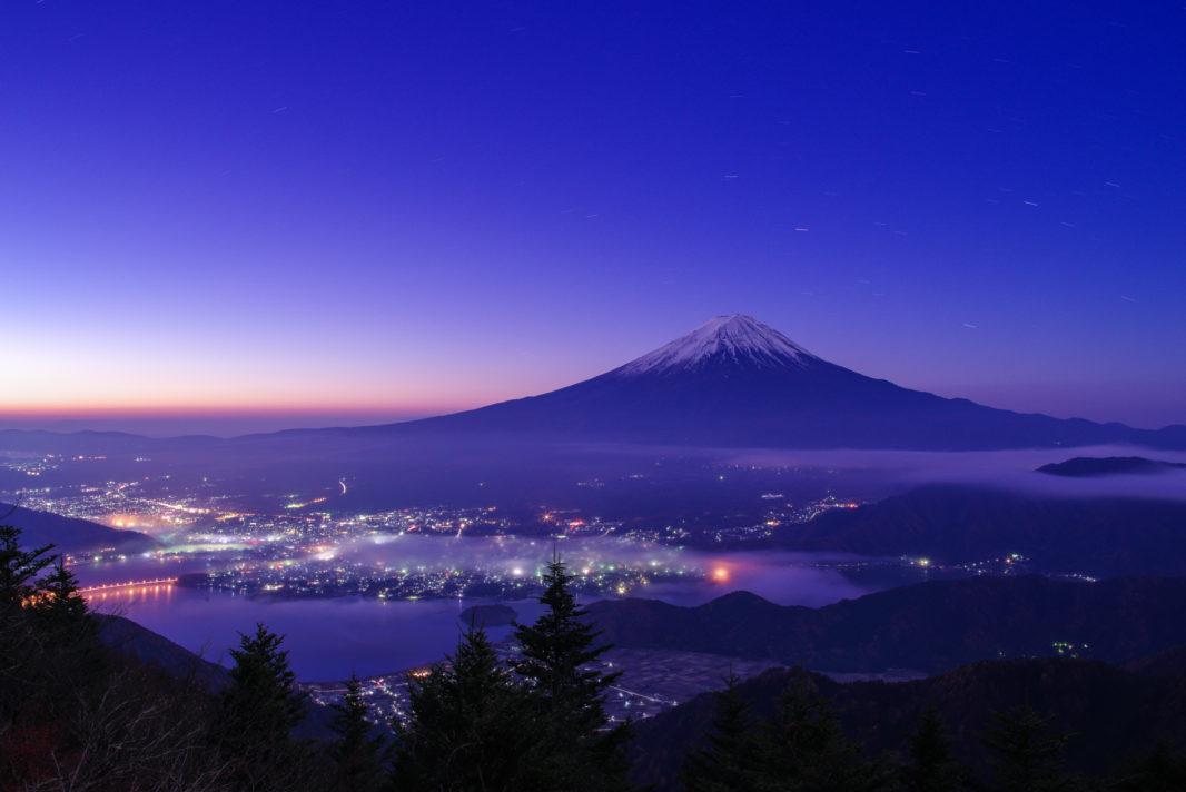 新道峠より富士山   PENTAX K-1&FA★28-70mm