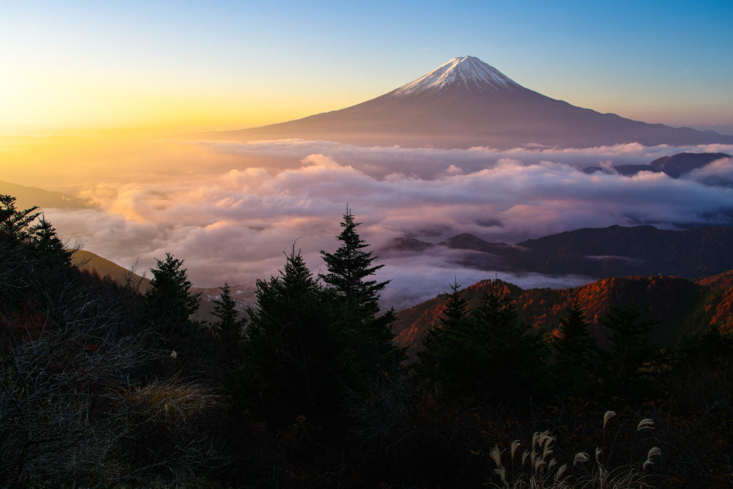 新道峠より富士山 | PENTAX K-1&FA★28-70mm