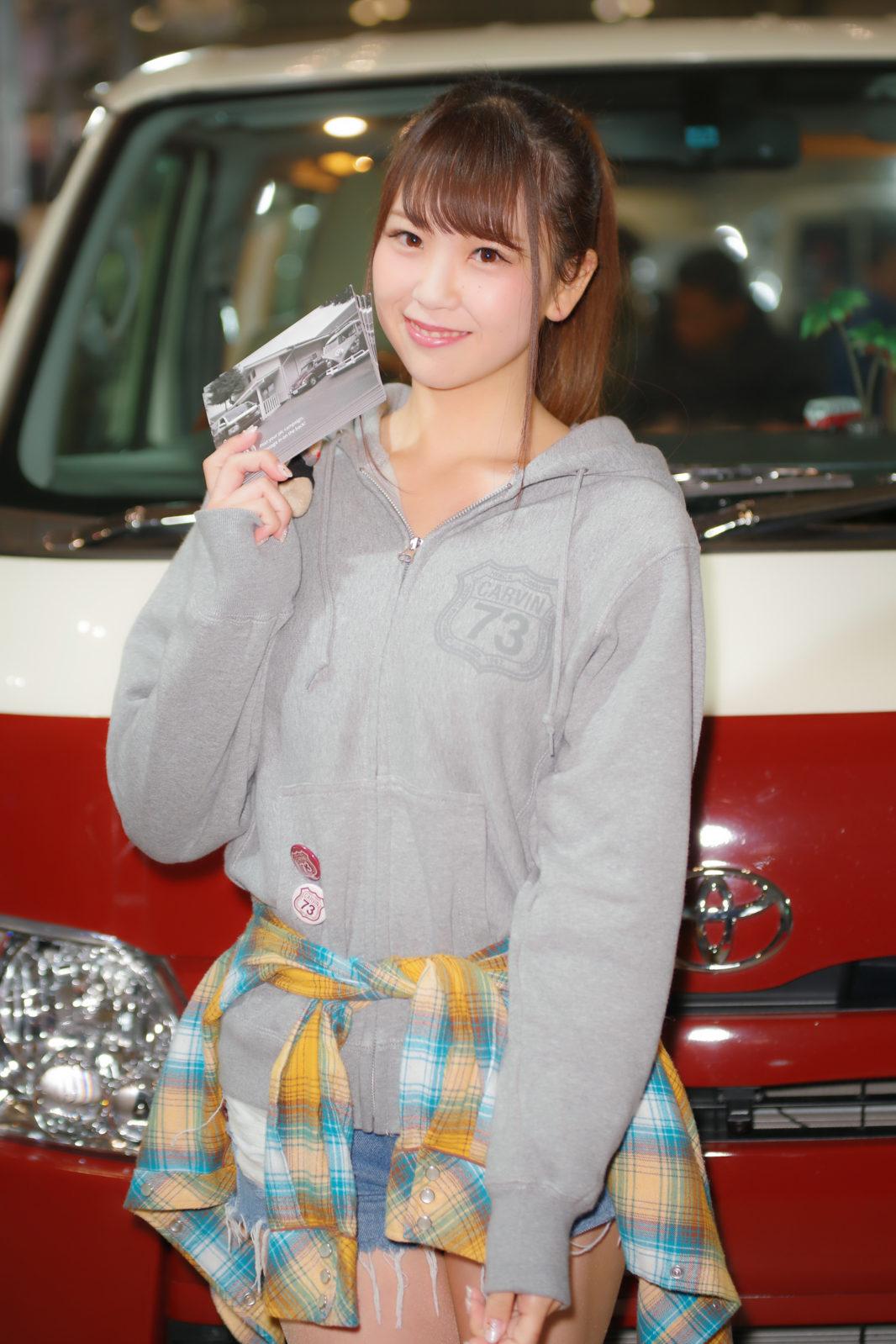 ブース不明のお姉さん | PENTAX K-1&D FA★70-200mm&AF540FGZ