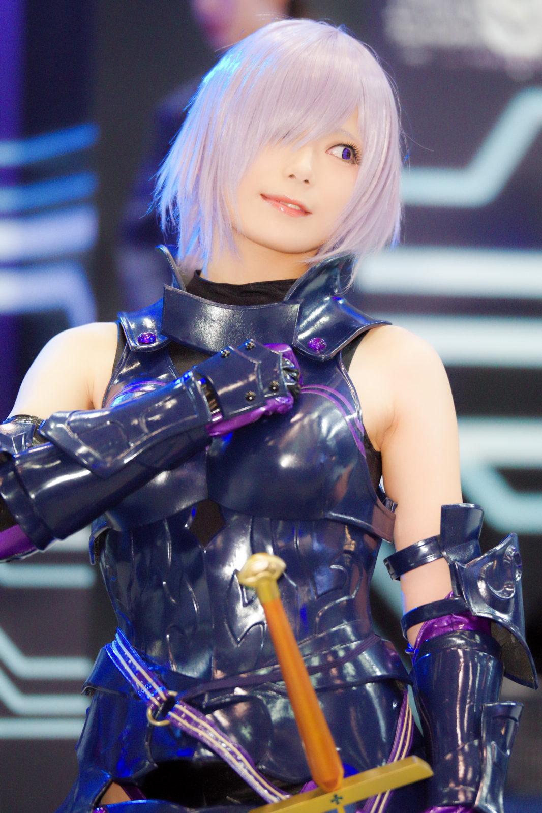 Fate/Grand Orderブースのお姉さん | PENTAX K-1&D FA★70-200mm&Cactus V6II&RF60X