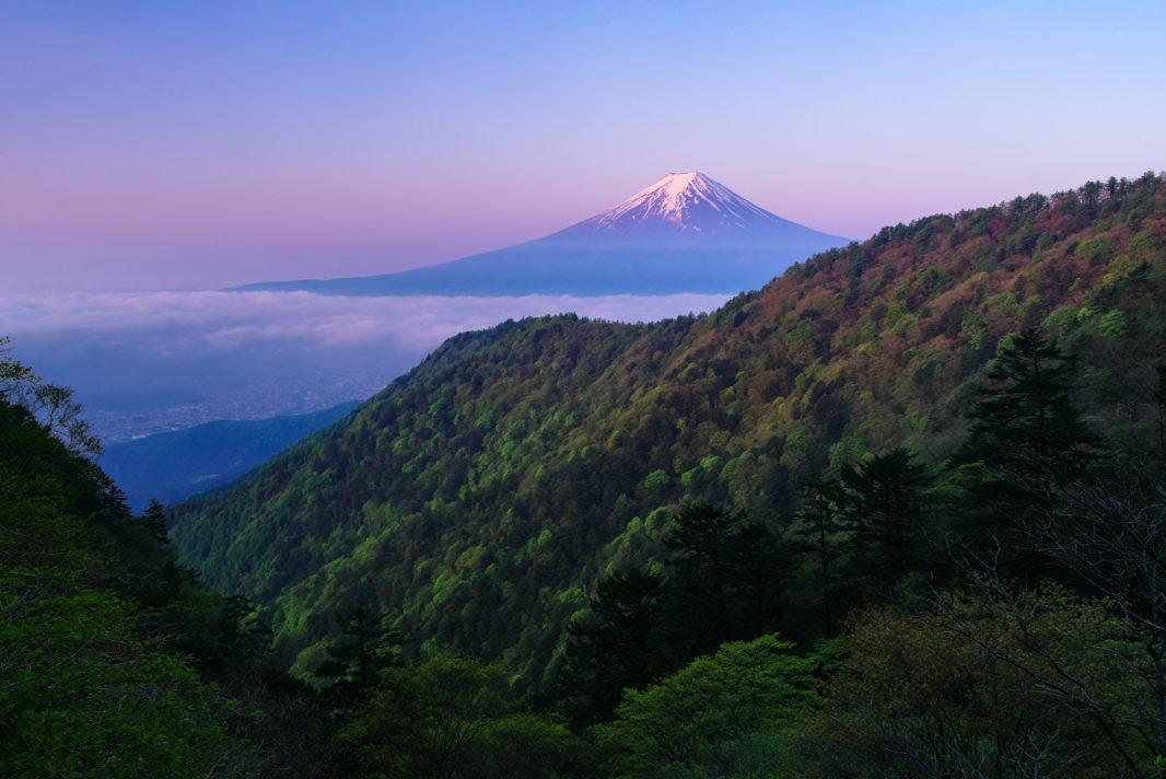 三ツ峠山より富士山 | PENTAX K-1&FA★28-70mm