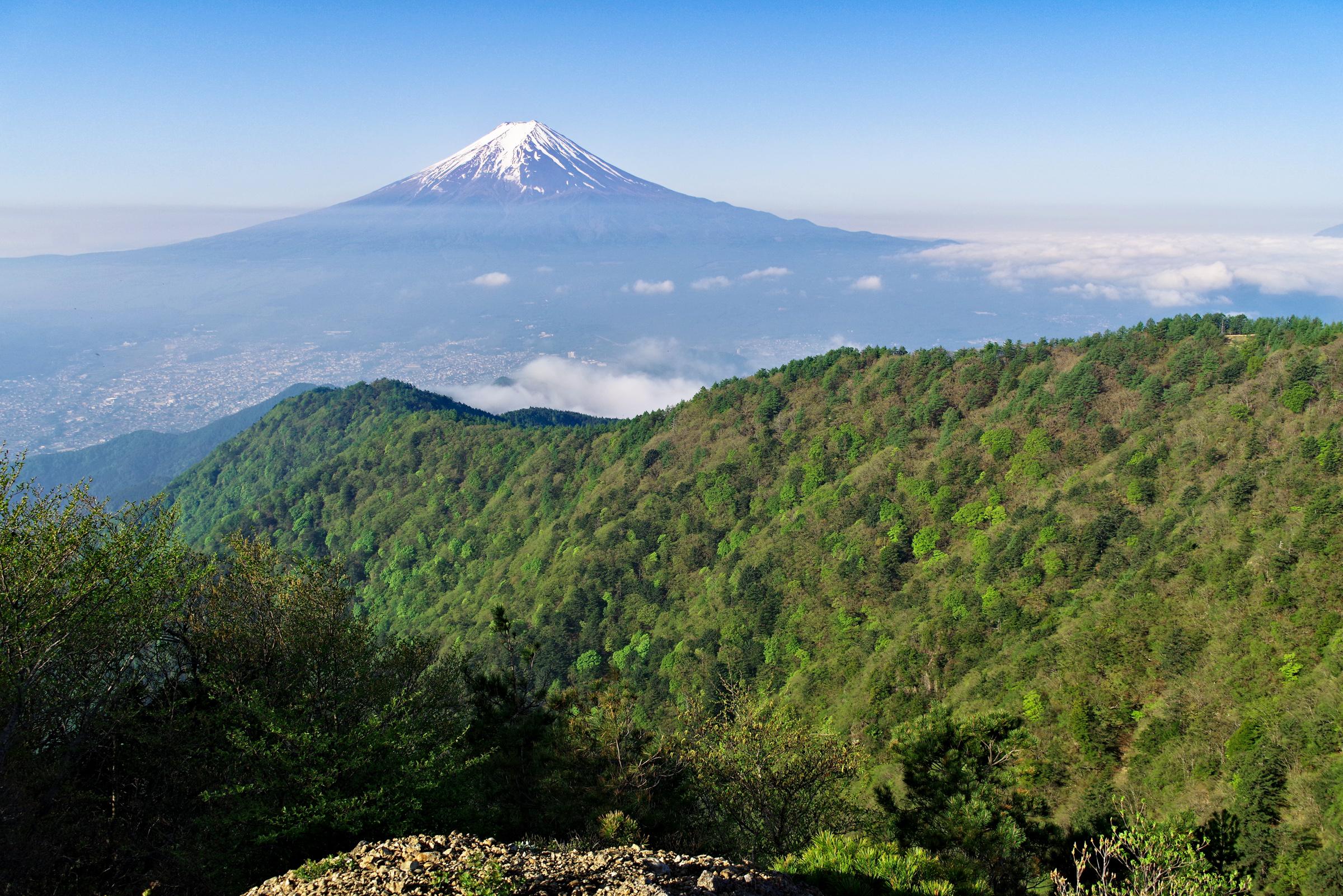 三ツ峠山山頂より富士山 | PENTAX K-1&FA★28-70mm
