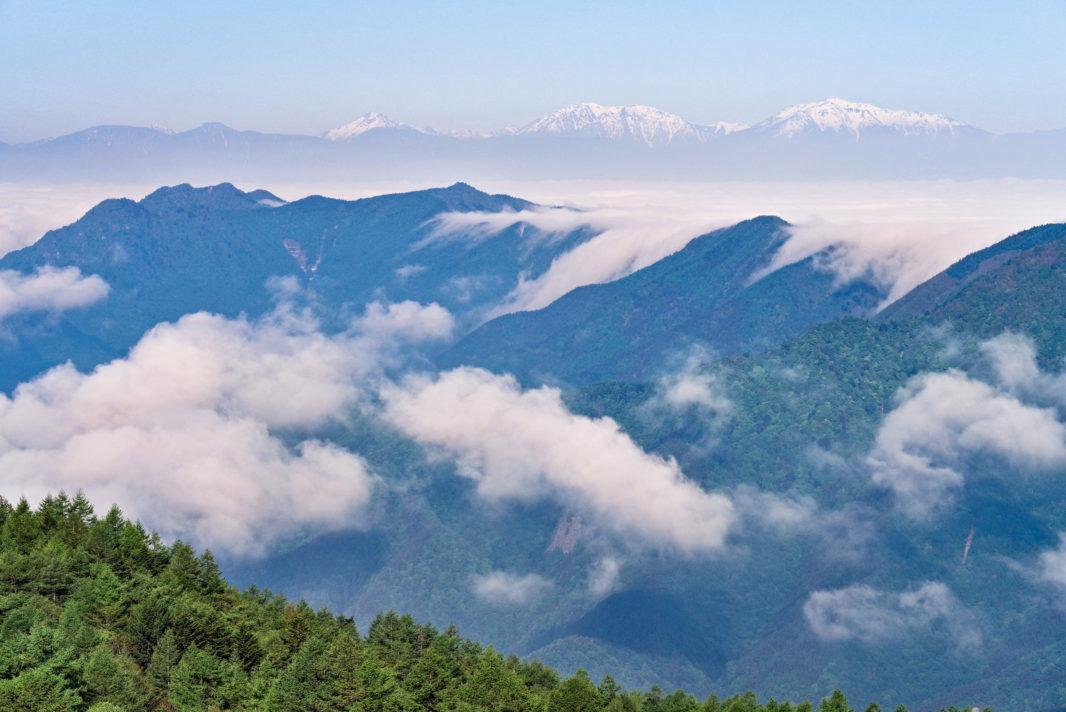 三ツ峠山山頂より雲海 | PENTAX K-1&D FA★70-200mm