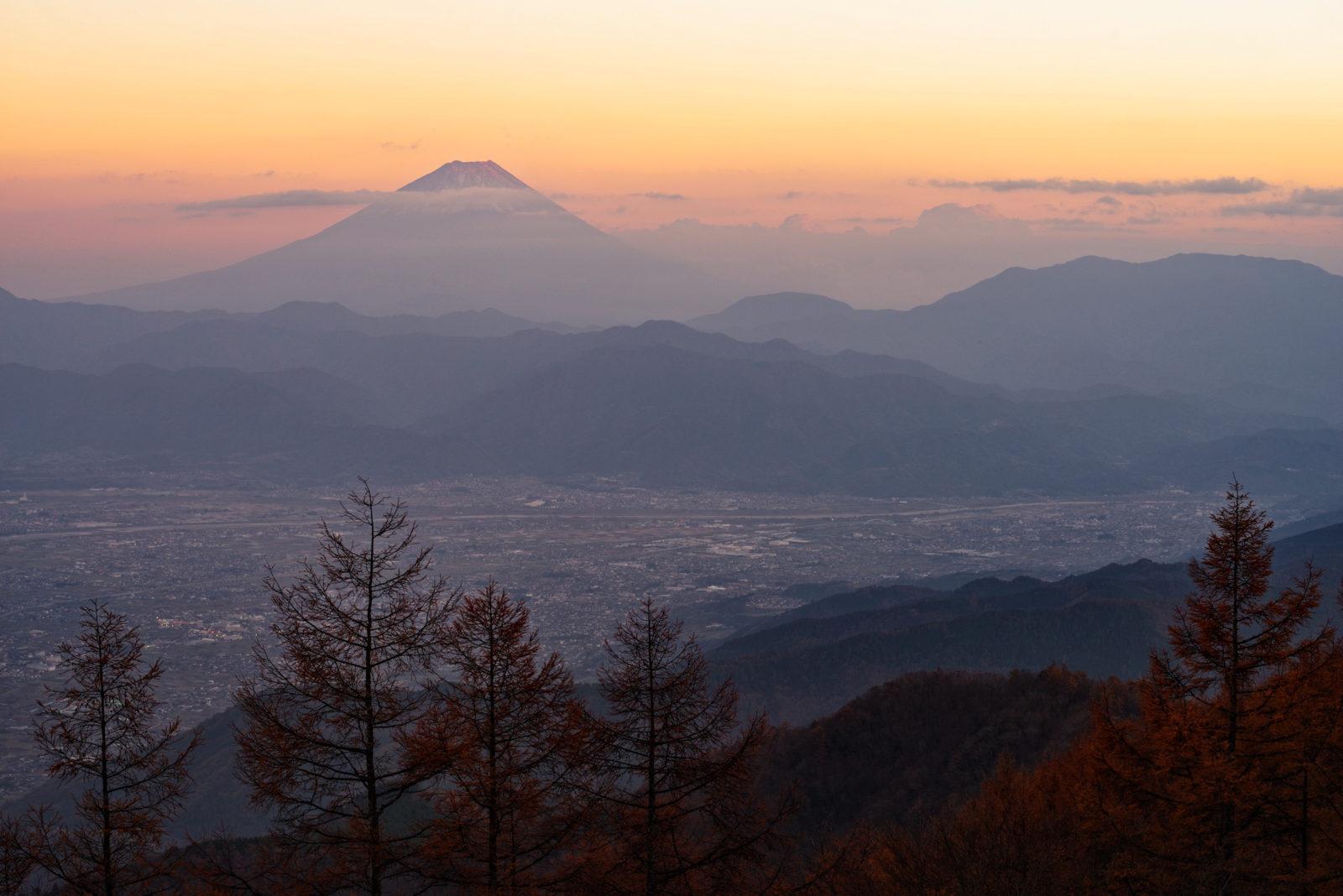 甘利山より富士山 | PENTAX K-1&D FA★70-200mm