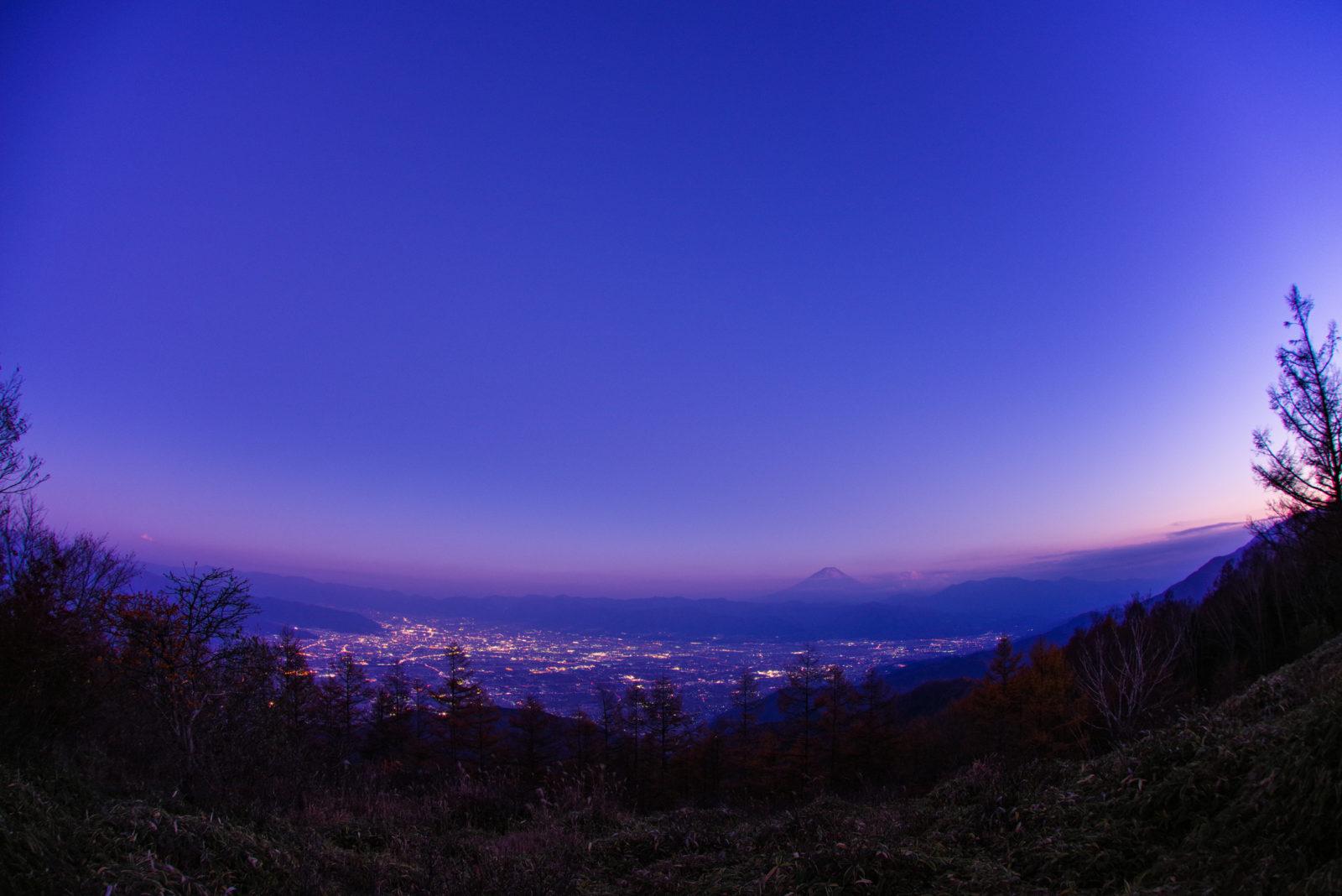 甘利山より富士山 | PENTAX K-1&DA10-17mm
