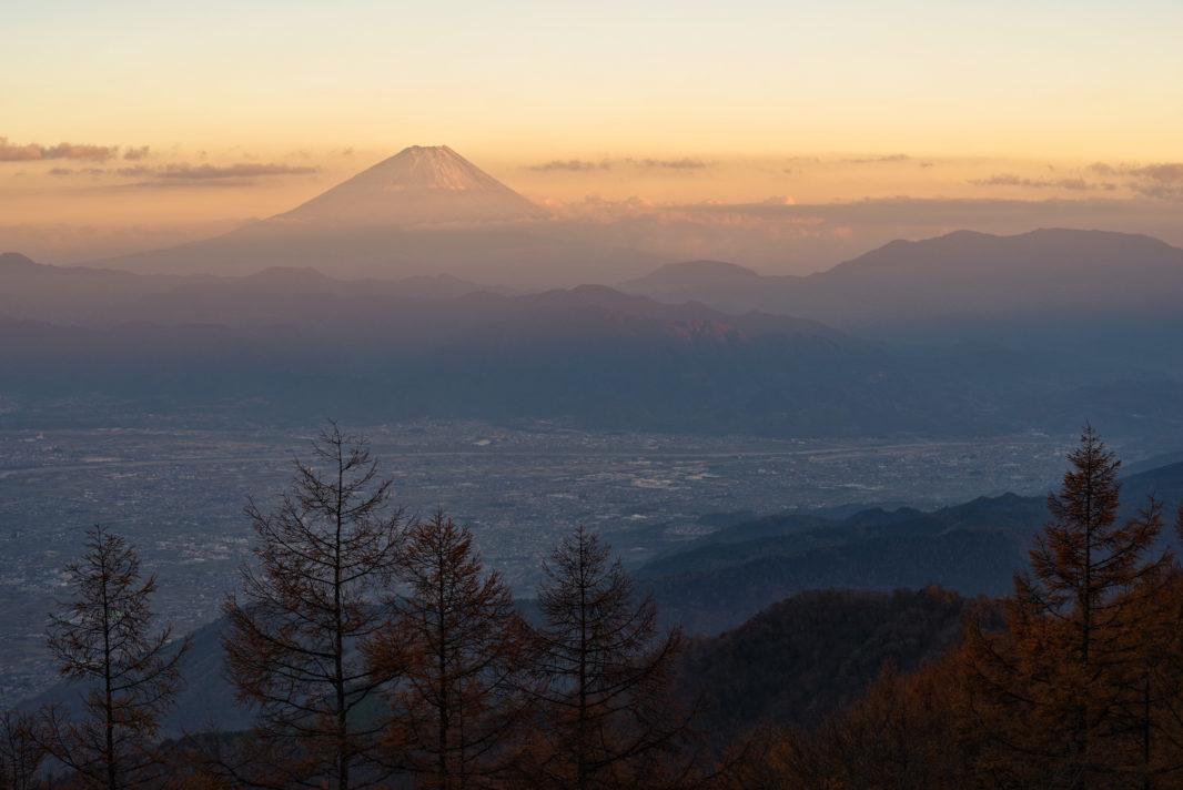 甘利山より富士山   PENTAX K-1&D FA★70-200mm