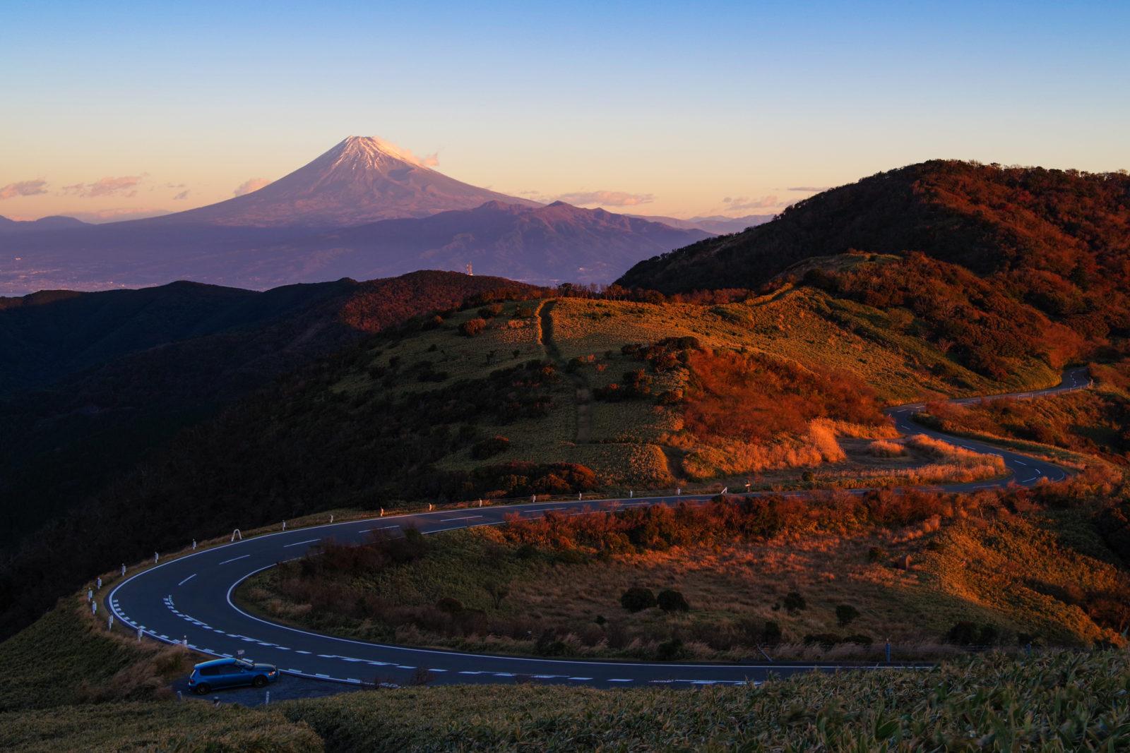 西伊豆スカイラインより富士山 | PENTAX K-1&FA★28-70mm