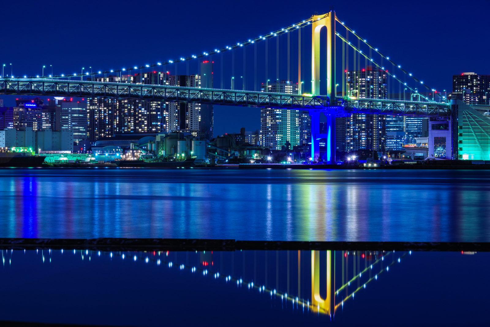晴海ふ頭よりレインボーブリッジ | PENTAX K-1&D FA★70-200mm