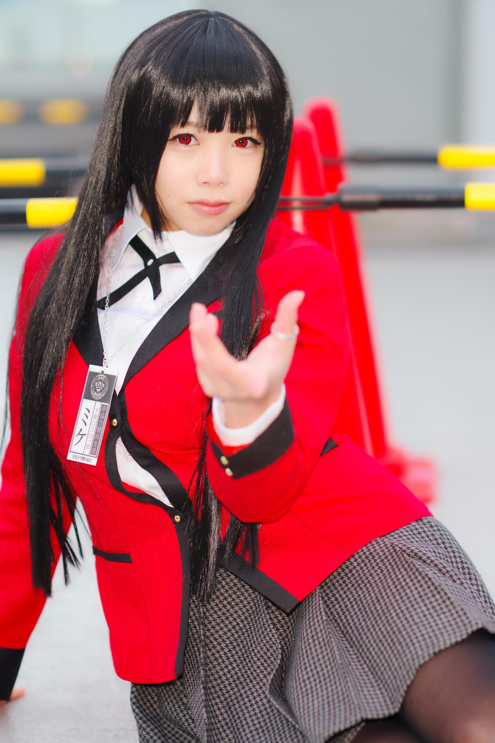 蛇喰夢子(賭ケグルイ)@yui*さん | PENTAX K-1&FA★85mm&Cactus V6II&RF60X