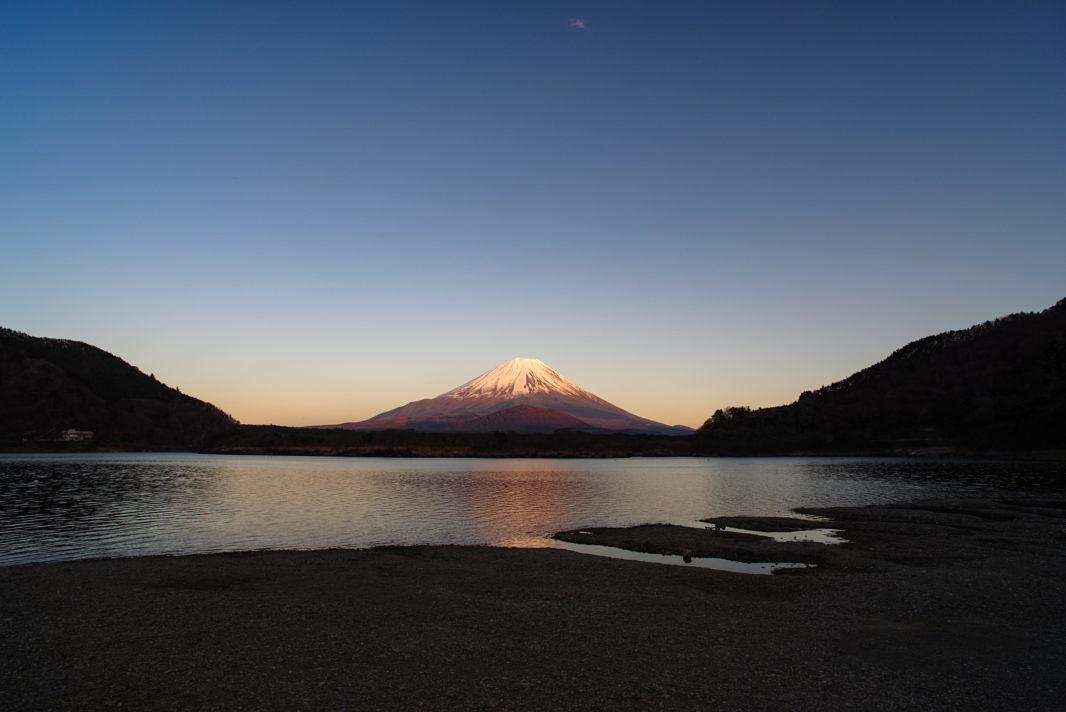 精進湖より富士山 | PENTAX K-1&FA20mm