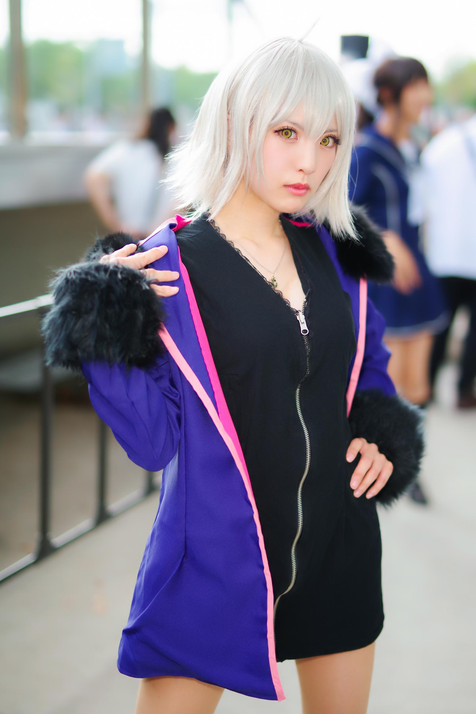 ジャンヌ・ダルク[オルタ](Fate/Grand Order)@えりおさん   PENTAX K-1&D FA★50mm&Cactus V6II&RF60X