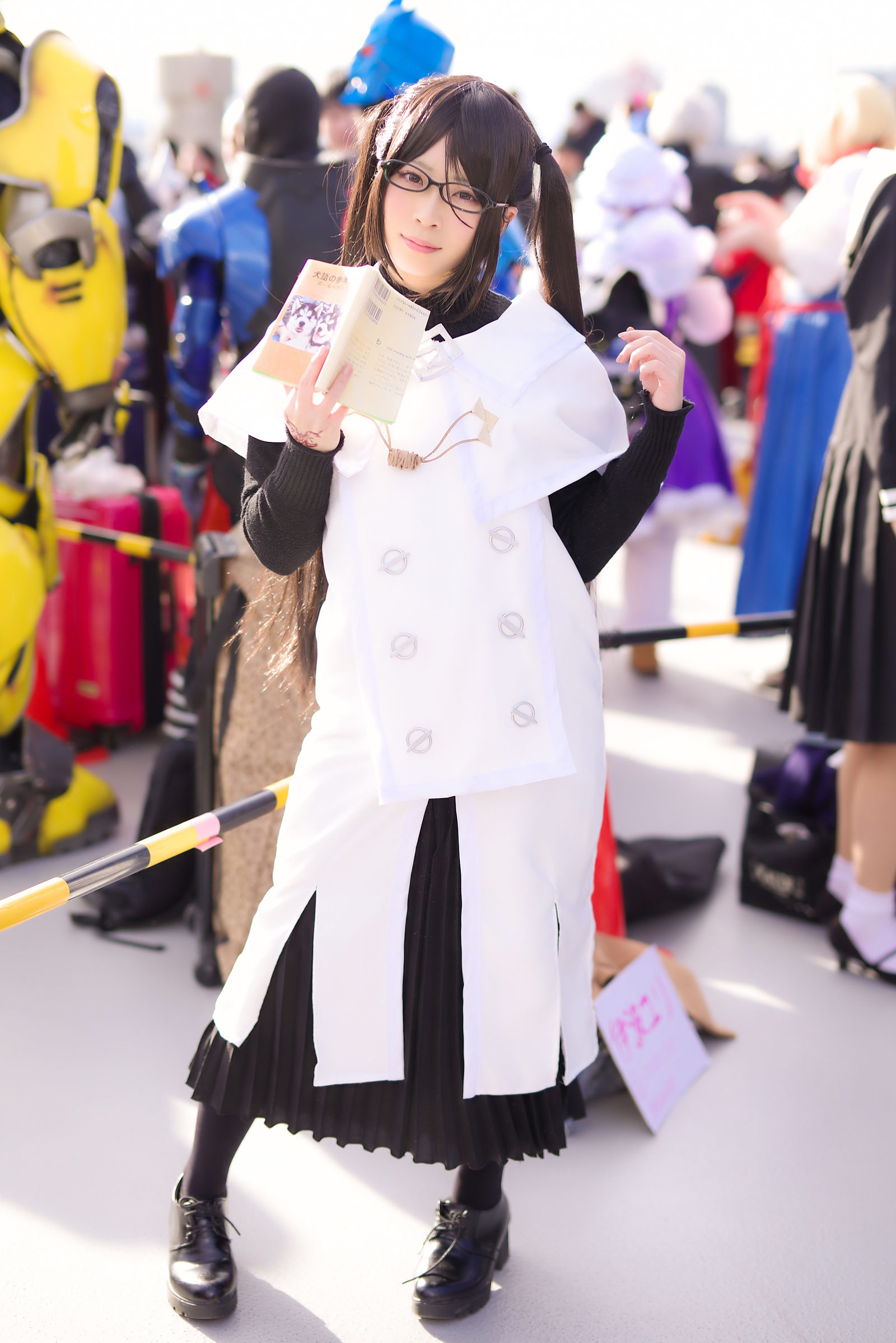 芥ヒナコ(Fate/Grand Order)@伊波ユリさん | PENTAX K-1&D FA★50mm&Cactus V6II&RF60X