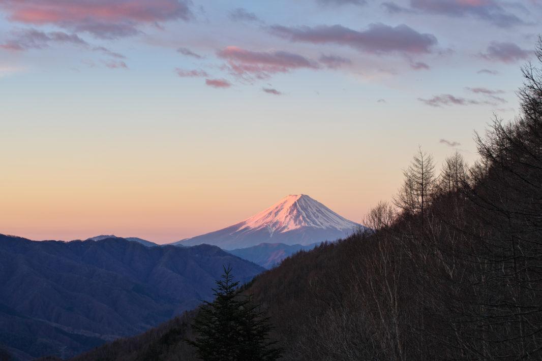 柳沢峠より富士山 | PENTAX K-1&D FA★50mm