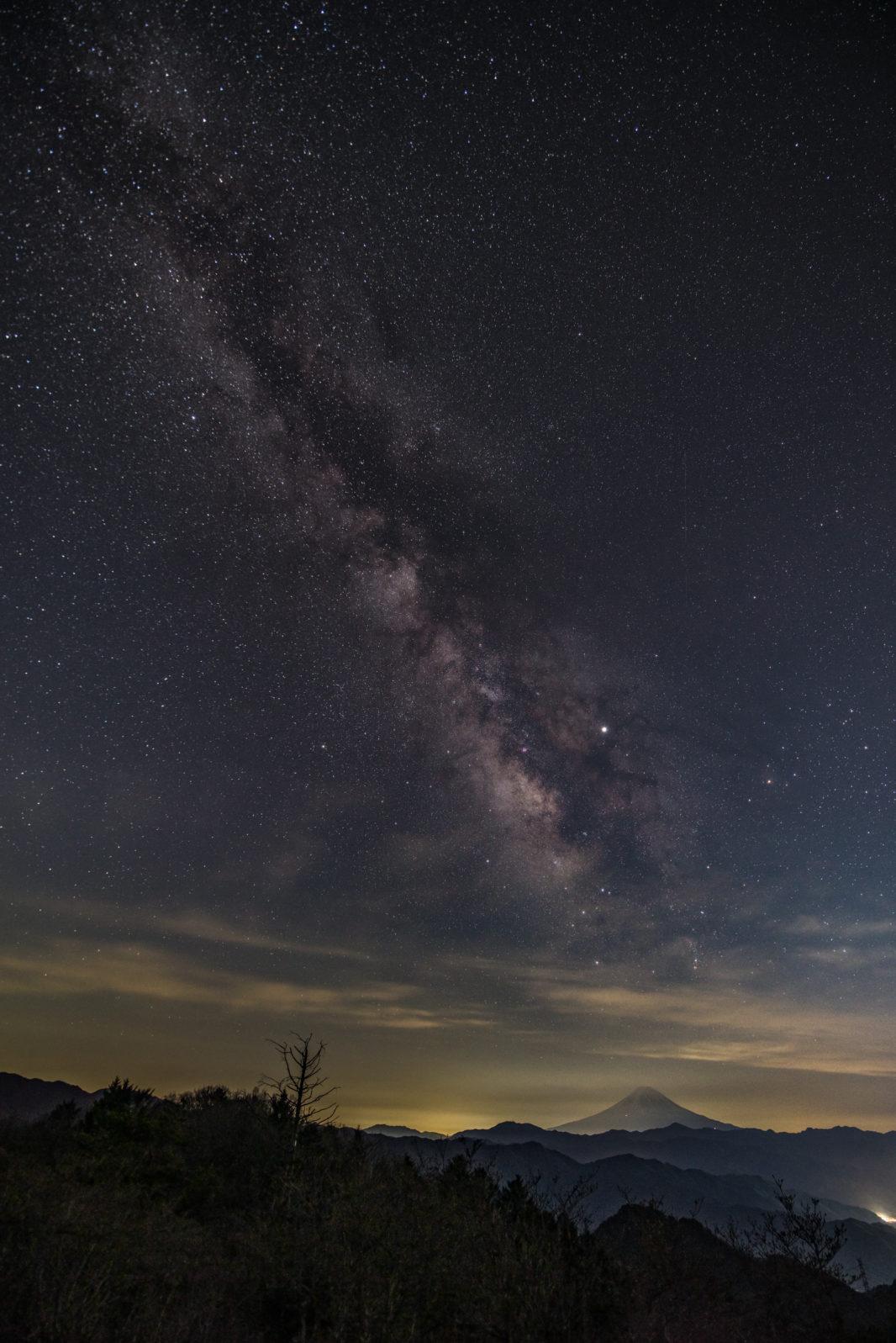 ハンゼノ頭にて富士山と天の川 | PENTAX K-1&D FA15-30mm