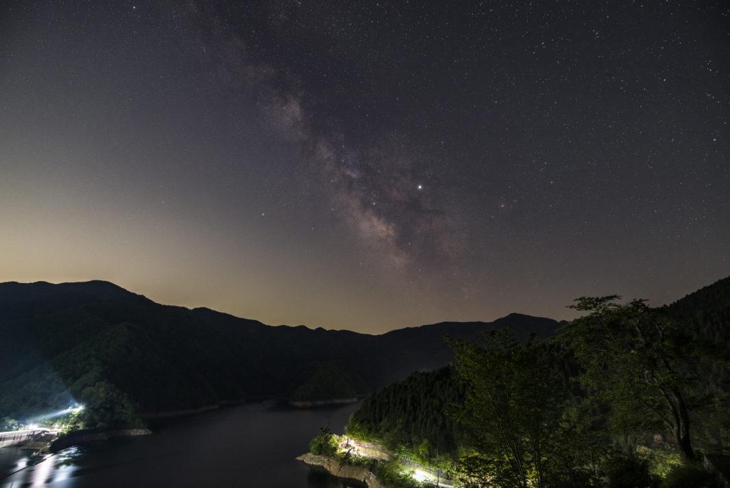 奥多摩湖にて天の川 | PENTAX K-1&D FA15-30mm