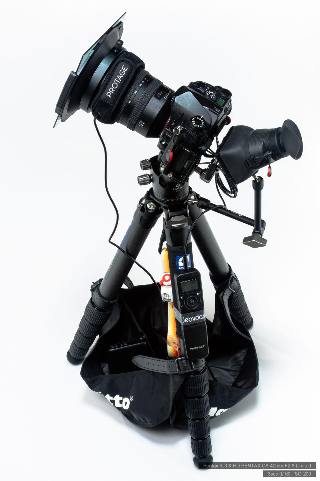 星景撮影用機材